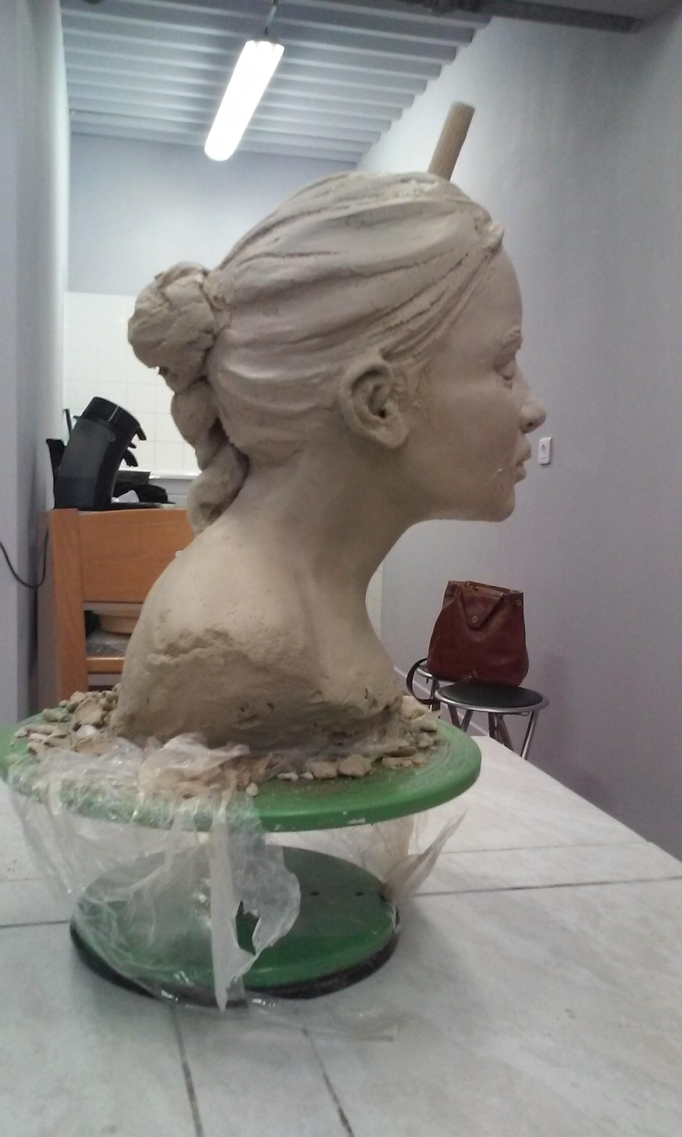 Hervorragend Sculpture Argile modelage HY45