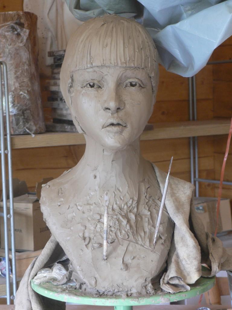 la japonisante dans Sculpture Argile modelage p1160248-768x1024